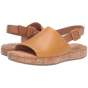 B.O.C Womens Freemont Leather Open Toe Casual Slingback Sandals