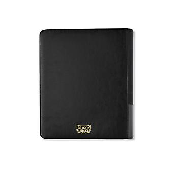 Dragon Shield Collector binder with zipper-9/18 ZIP-BLACK