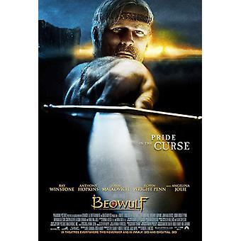 Beowulf (kaksipuolinen Advance) alkuperäinen elokuva juliste