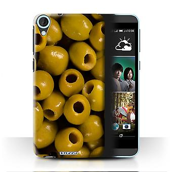 STUFF4 Case/Cover for HTC Desire 820s Dual/Olives/Food