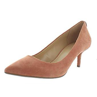 Michael Michael Kors Womens Flex Suede Pointed Toe Kitten Heels