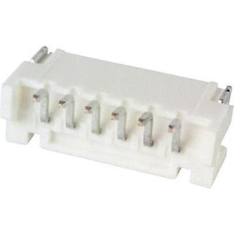 Built-in pin strip (standard) PH Total number of pins 6 JST S6B-PH-SM4-TB (LF)(SN) Contact spacing: 2 mm 1 pc(s)