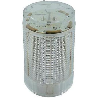 Signal tower component LED ComPro CO ST 40 White Non-stop light signal, Flasher 24 Vdc, 24 Vac 75 dB