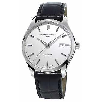 Frederique Constant Mens Classics Index Automatic Black Leather Strap FC-303S5B6 Watch