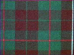 MacKinnon Hunting, Modern - Pure Wool Tartan