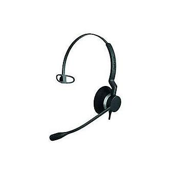 Phone headset QDCs (Quick Disconnect) Corded Jabra BIZ™2300 Monaural Over-the-ear Black