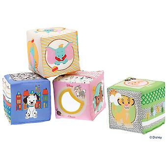 Chicco Disney Soft Cubes (Toys , Preschool , Babies , Stackable Toys)