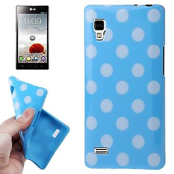 Protective case TPU points of case for mobile LG Optimus L9 / P760