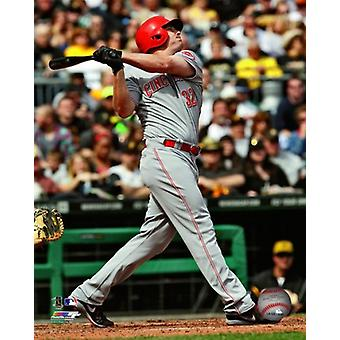 Jay Bruce 2013 Action Photo Print