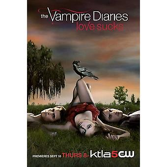 The Vampire Diaries - style A Movie Poster (11 x 17)
