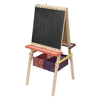 B. Wooden easel blackboard Easel Does it