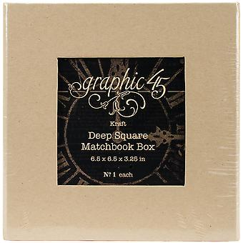 Graphic 45 Staples Tiefe Matchbook Box-6