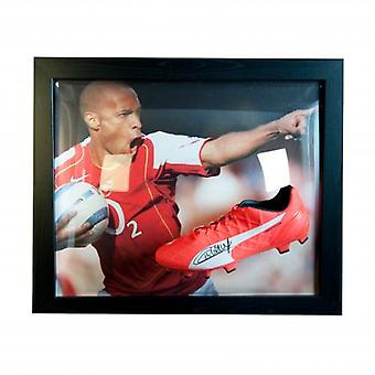 Arsenal Henry Signed Boot (Framed)