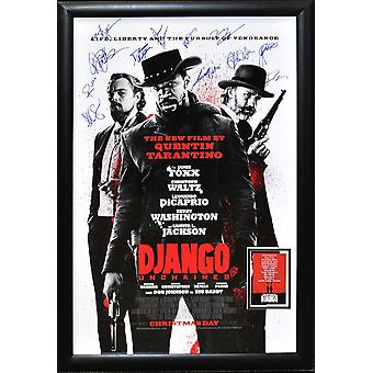 Django -  Signed Movie Poster