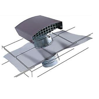 Universal Roof duct Air outlet and inlet Steel sheet
