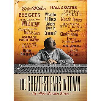 Største ører i byen: Arif Mardin historie [DVD] USA import