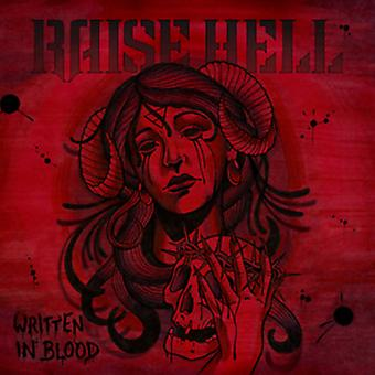 Raise Hell - Written in Blood [CD] USA import