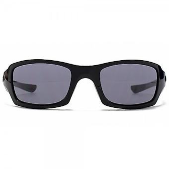 Oakley Five Squared Sunglasses In Polished Black Grey