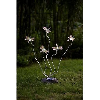KONSTSMIDE 5 libellula Outdoor Solar Garden Lights