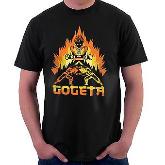 Dragonball Z Goteta Super Saiyan Power Up Men's T-Shirt