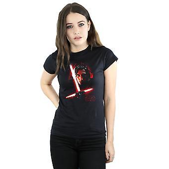 Star Wars Women's The Last Jedi Kylo Ren Brushed T-Shirt