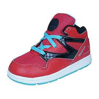 Reebok Classic Versa Pump Omnilite Kids /  Trainers / Shoes - Red