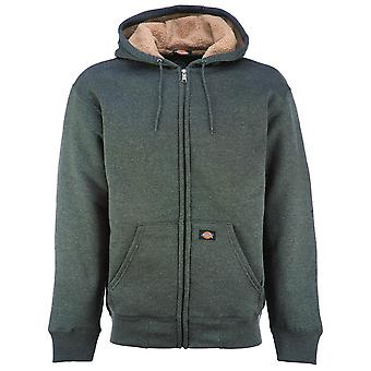Dickies Sherpa Lined Fleece Hoodie Grey