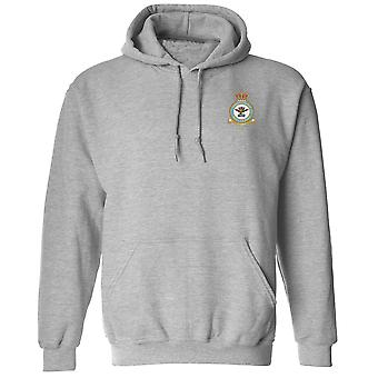 Logistics Branch Embroidered Logo - Official Royal Air Force Hoodie