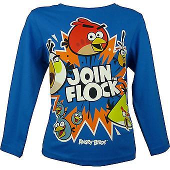 Boys Angry Birds | Long Sleeve Top