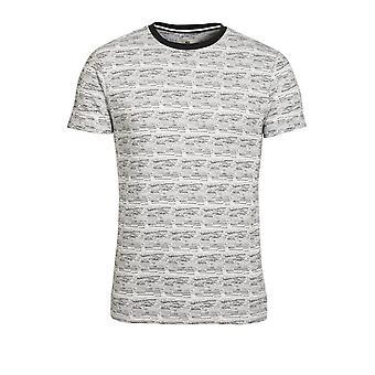 BELLFIELD Hewitt Stiped T-Shirt |White
