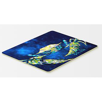 Carolines Treasures  MW1101CMT Crab Tealy Kitchen or Bath Mat 20x30