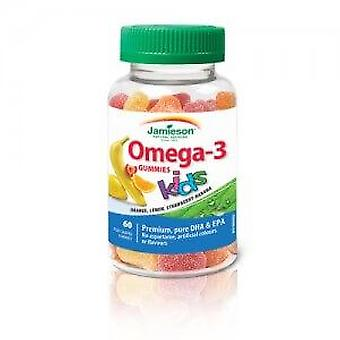 Jamieson Omega-3 for Children 60 Sweets (Vitamins & supplements , Omegas & fatty acids)