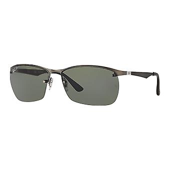 Ray - Ban RB3550 polariserade grön Matt Gunmetal