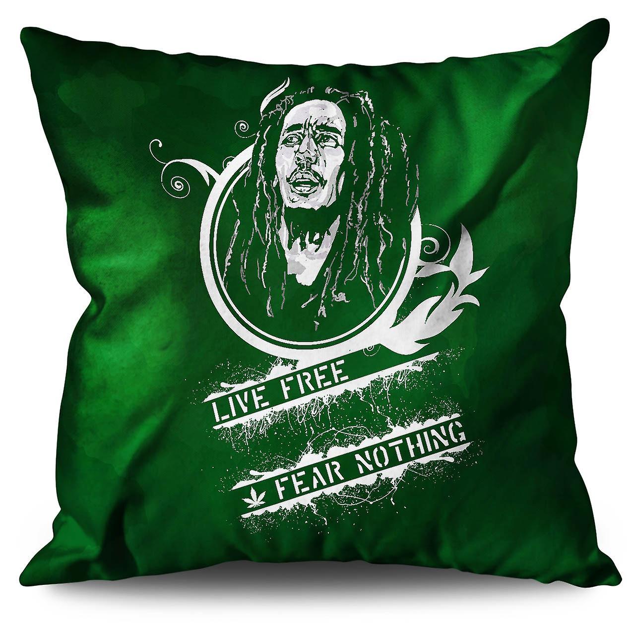 Free XWellcoda No Fear Cushion 30cm Linen CxdoerB