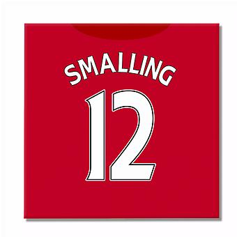 2016-2017 Man United Canvas Print (Smalling 12)