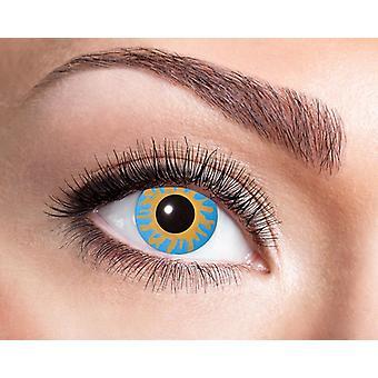 Magic blue Blau Engel contact lens
