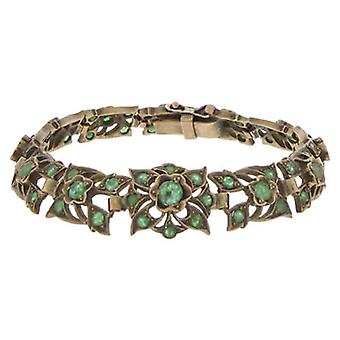 Bracelet with Emerald