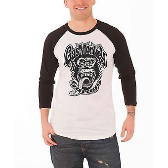 Gas abe Garage skjorte 04 Dallas Logo officielle Herre hvide nye Baseball Shirt