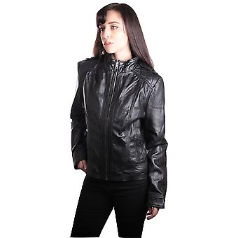 Womens Vitara Leather Jacket