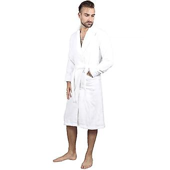 The cotton<sup>®</sup> luxury bathrobe - white