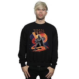 Star Wars Men's Darth Vader Swirling Fury Sweatshirt