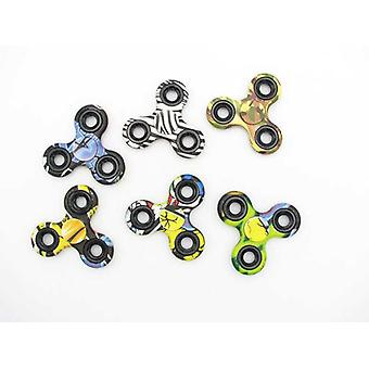 Import Fidget Spinner Body Deco Camouflage