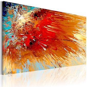 Artgeist Handmade painting Explosion (Decoration , Pictures / Frames)