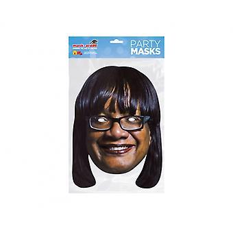 Diane Abbott British Politician 2D Card Party Face Mask