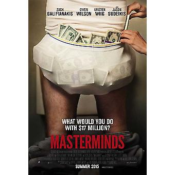 Masterminds Movie Poster (11x17)