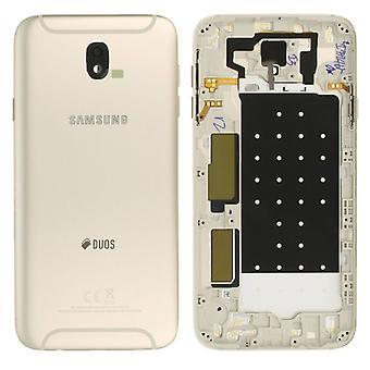 Samsung GH82 - 14448C batteriluckan cover för Galaxy J7 J730F 2017 duo + guld