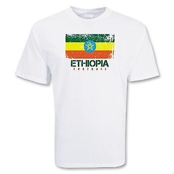 Футболки футбольные Эфиопии