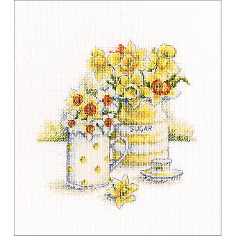 Spring Light Counted Cross Stitch Kit-6