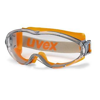 Uvex 9302-245 Ultrasonic Clear Supravision HC-AF Safety Goggles