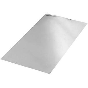 Reely Aluminium sheets AL 99.5,L 400 mm,W 200 mm,D 0.4 mm
